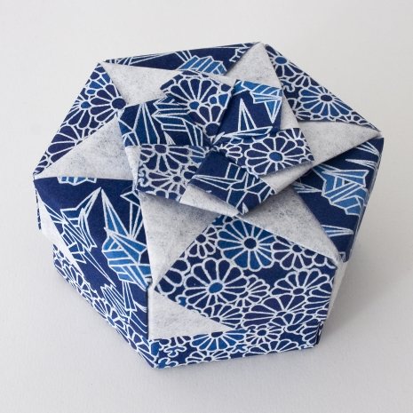 Origami Hexagonal Box