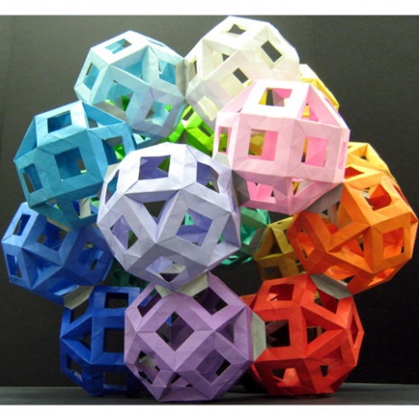 Oragami Rhombicuboctahedron