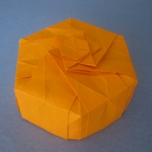 Origami Star Lid Box